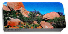 Boulders 7 In Abstract Portable Battery Charger