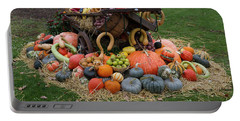 Bountiful Harvest L Portable Battery Charger by Shirley Mitchell