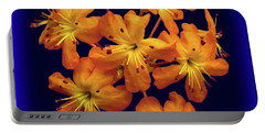 Portable Battery Charger featuring the digital art Bouquet In A Box by Donna Brown