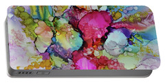 Portable Battery Charger featuring the painting Bouquet In Pastel by Joanne Smoley