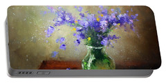 Bouquet Of Bluebells Portable Battery Charger
