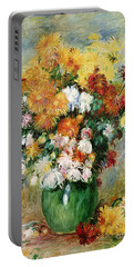 Bouquet Of Chrysanthemums Portable Battery Charger