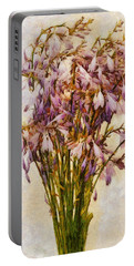 Bouquet Of Hostas Portable Battery Charger