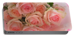Bouquet Of Sweetness Portable Battery Charger by Rachel Mirror
