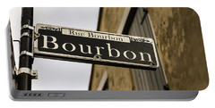 Bourbon Street, New Orleans, Louisiana Portable Battery Charger