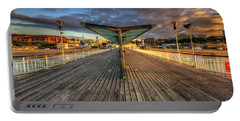 Portable Battery Charger featuring the photograph Bournemouth Pier Sunrise 2.0 by Yhun Suarez