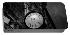 Boutique Sign Black And White Portable Battery Charger