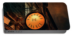 Boutique Sign - Quebec City Portable Battery Charger