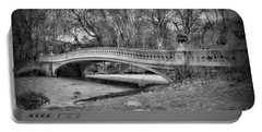 Bow Bridge In Black And White 2 Portable Battery Charger