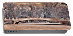 Bow Bridge In Infared 1 Portable Battery Charger