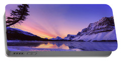 Bow Lake And Pine Portable Battery Charger