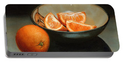 Bowl Of Oranges Portable Battery Charger