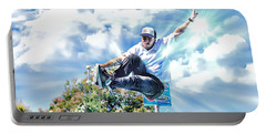 Bowlriders, Skateboarder Portable Battery Charger