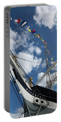 Bowsprit And Flags Portable Battery Charger