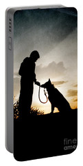Boy And His Dog Portable Battery Charger