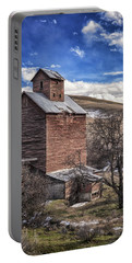 Portable Battery Charger featuring the photograph Boyd Flour Mill by Cat Connor