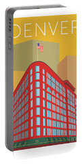 Denver Brown Palace/gold Portable Battery Charger