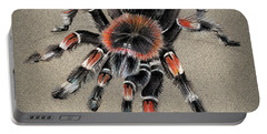 Brachypelma Smithi  Mexican Red Knee Tarantula Portable Battery Charger
