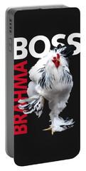 Brahma Boss II T-shirt Print Portable Battery Charger