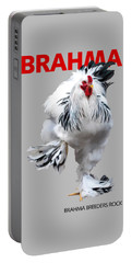 Brahma Breeders Rock Red Portable Battery Charger