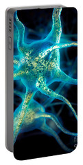 Brain Cell Neurons Portable Battery Charger