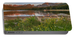 Portable Battery Charger featuring the photograph Brainard Lake by Gary Lengyel