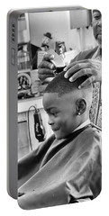 Brian's Haircut Portable Battery Charger