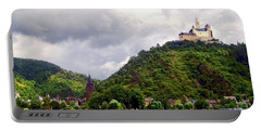 Portable Battery Charger featuring the photograph Brambach Germany by Joan  Minchak