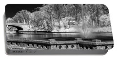 Portable Battery Charger featuring the photograph Branch Brook Park New Jersey Ir by Susan Candelario