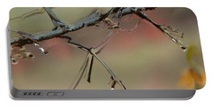 Branch With Water Abstract Portable Battery Charger