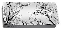 Branches And Birds Portable Battery Charger by Sandy Taylor