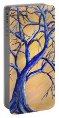 Branches Of Blue Portable Battery Charger