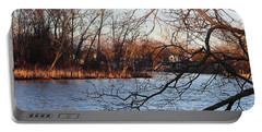 Branches Over Water Portable Battery Charger