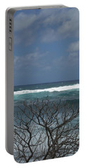 Branches Waves And Sky Portable Battery Charger