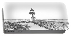 Brant Point Lighthouse Portable Battery Charger