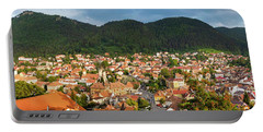 Portable Battery Charger featuring the photograph Brasov by Fabrizio Troiani