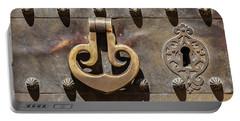 Brass Castle Knocker Portable Battery Charger