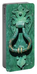 Brass Door Handle Portable Battery Charger