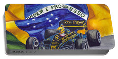 Brazil's Ayrton Senna Portable Battery Charger