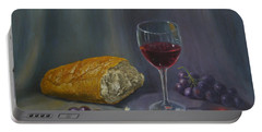 Bread And Wine Portable Battery Charger
