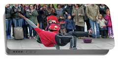 Breakdancer Portable Battery Charger