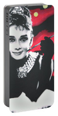 Breakfast At Tiffannys Portable Battery Charger