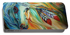 Breaking Dawn Indian War Horse Portable Battery Charger