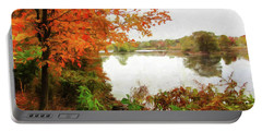 Breath Of Autumn Portable Battery Charger