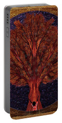 Portable Battery Charger featuring the digital art Breath Spirit Life by Iowan Stone-Flowers