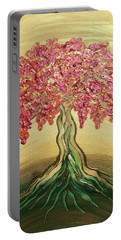 Breathe Golden Peace Portable Battery Charger