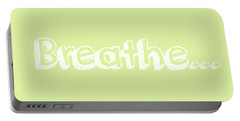 Breathe - Customizable Color Portable Battery Charger by Inspired Arts