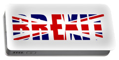 Brexit Portable Battery Charger by Roger Lighterness