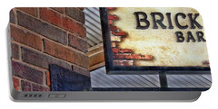 Portable Battery Charger featuring the photograph Brick Bar by Nikolyn McDonald