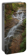 Portable Battery Charger featuring the photograph Bridal Veil Falls by Dale Kincaid